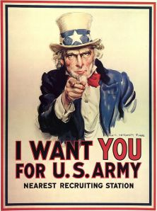 James Montgomery Flagg, Uncle Sam Wants You,